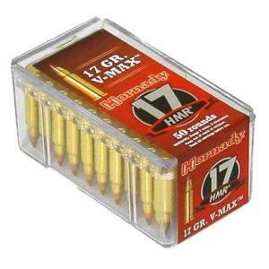 Hornady V-MAX™ .17 HMR® 17-Grain Rimfire Ammunition