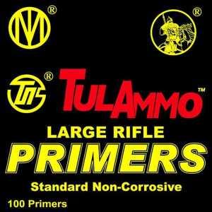 TulAmmo Standard Large Rifle Primers