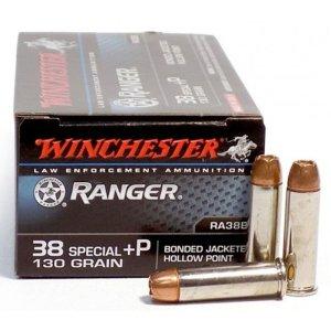 Winchester Bonded PDX1 .38 Special +P 130-Grain Handgun Ammo