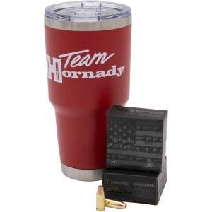 Hornady Black 9mm Luger 124-Grain Handgun Ammo & Tumbler