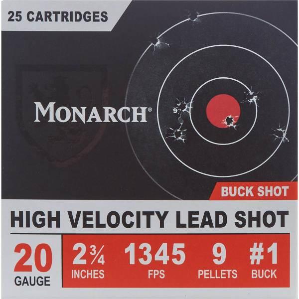 Monarch High Velocity 20 Gauge Buck Shotshells