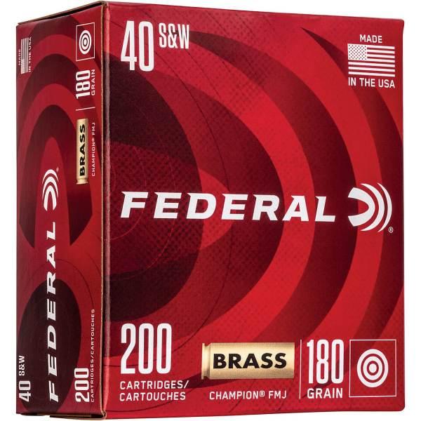 Best Federal Premium Champion .40 S&W 180-Grain