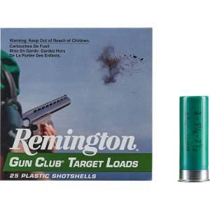 Remington Gun Club Target Load 12 Gauge 7.5 Shotshells 500 Rounds