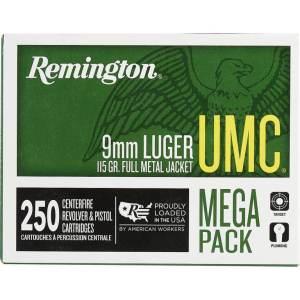 9mm Luger 115-Grain Remington UMC