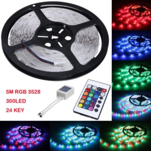 5M RGB LED Strip With Remote