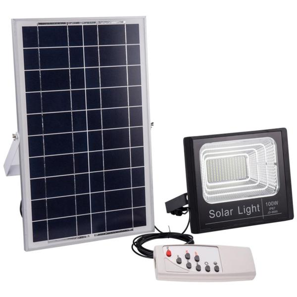100 Watt Solar Flood Light