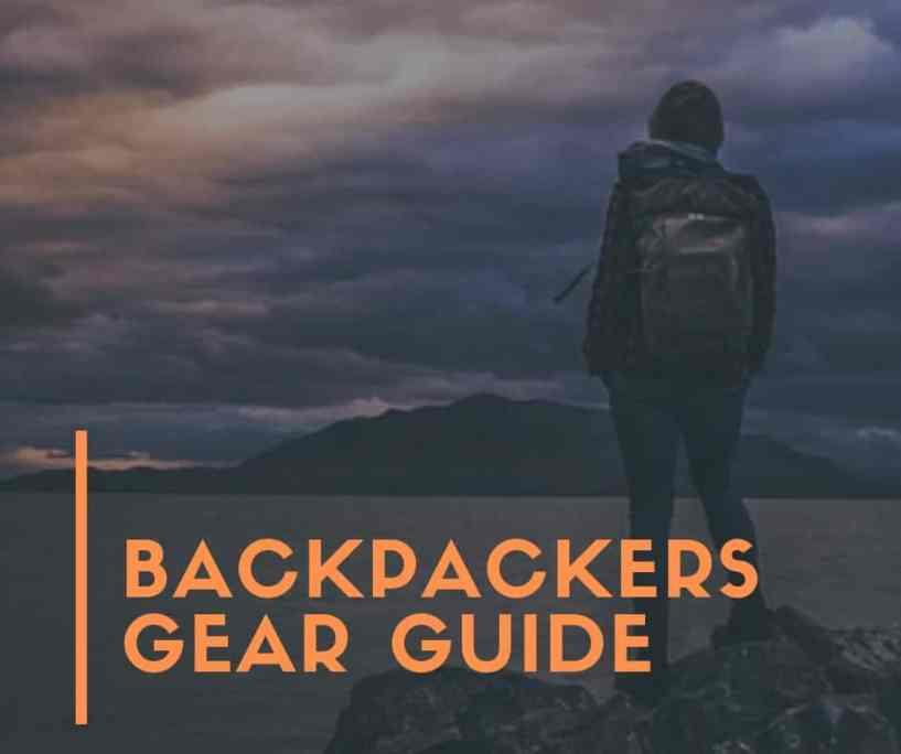 backpacker giear Guide for beginners