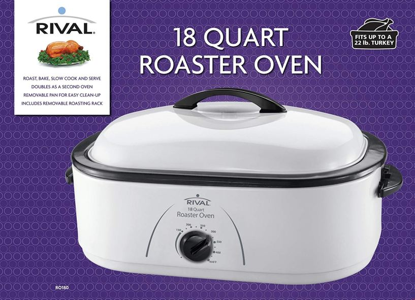 Rival RO180 18-Quart Roaster Oven Review