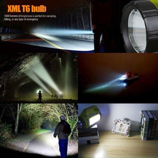 LE Rechargeable LED Camping Lantern, 3600mAh