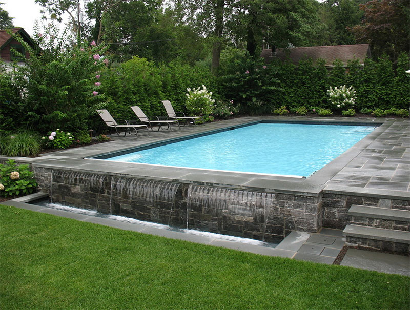 42 above ground pools with decks tips ideas design for Quality pool design