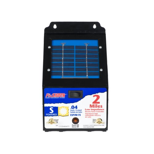 Electric Fence Control Panel : What is the best solar fence charger on market