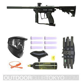 Spyder MR1 Tactical Paintball Marker Gun SNIPER SET
