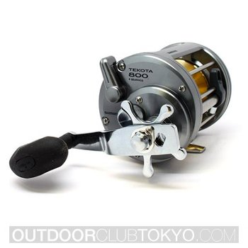 Shimano Tekota 800 Conventional Reel with Line Counter
