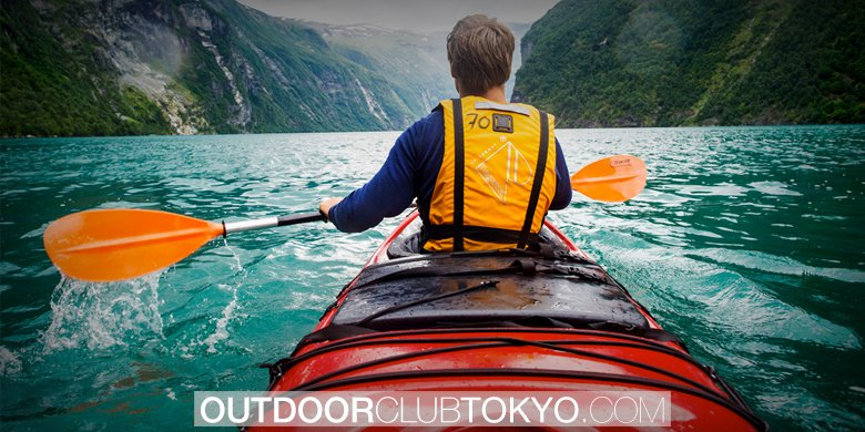 A Beginner's Guide to Kayaking   Outdoor Club Tokyo