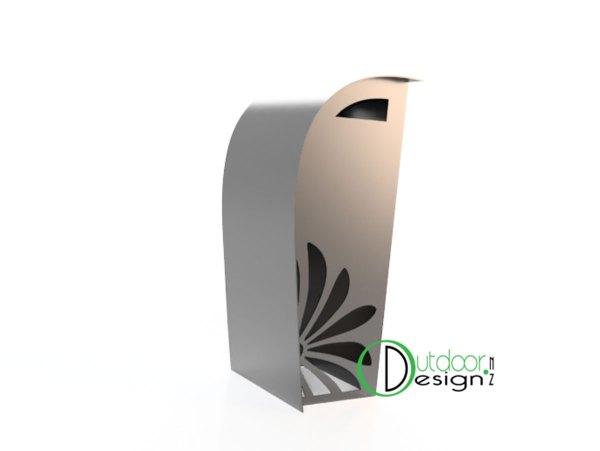 Steel art garden ideas