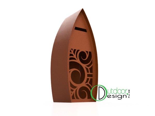 Koru garden art features and ideas