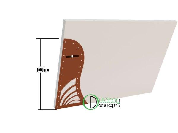 Block concrete fence mail box design New Zealand nz for sale