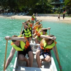 Team building Dragon Boating in Thailand