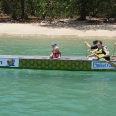 Schools Dragon Boating in Thailand