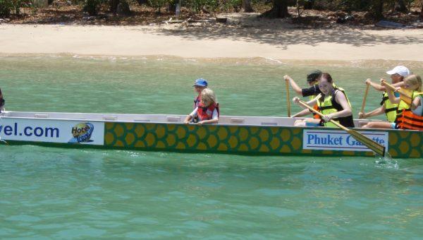 Schools Dragon Boating in Thailand