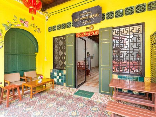 Hostel in old Phuket