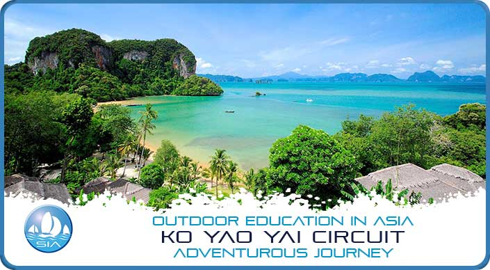 Tropical waters on Koh Yao Yai Adventurous Journey