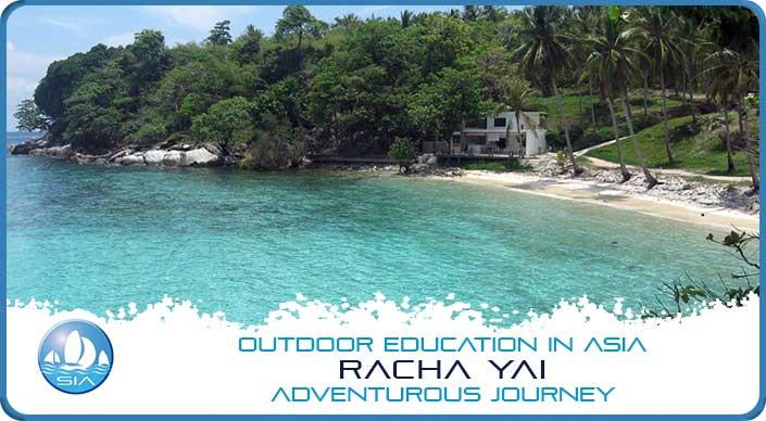 Island Beach on Racha Yai Adventurous Journey