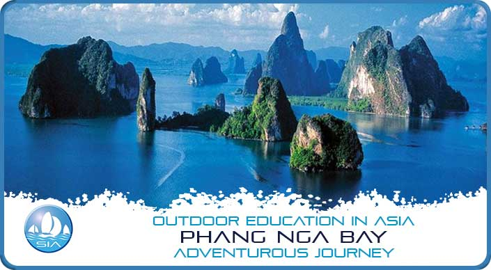 Limestone stacks of Phang Nga Bay Adventurous Journey