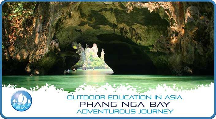 Sea arch at Phang Nga Bay Adventurous Journey