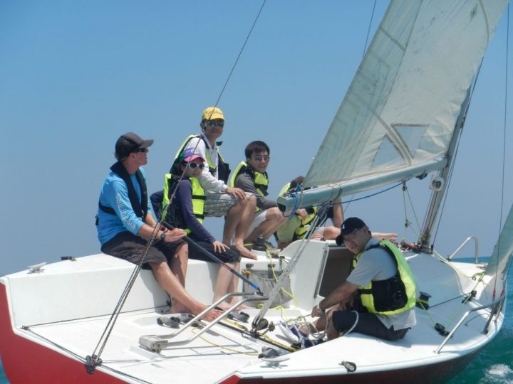 Learn to Sail in Thailand