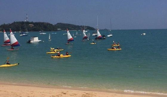 Sailing and Kayaking