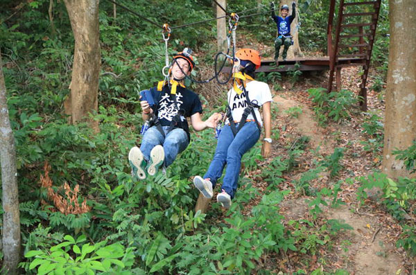 Zipline tuition