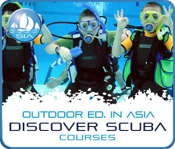 Discover scuba courses with Sail in Asia