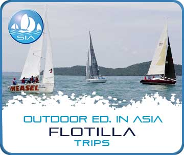 Flotilla trips with Sail in Asia