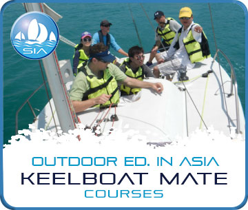 Keelboat mate courses with Sail in Asia