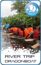 Dragon boat rivertrip with Sail in Asia