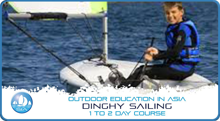 Dinghy sailing with Sail in Asia 1 to 2 day course