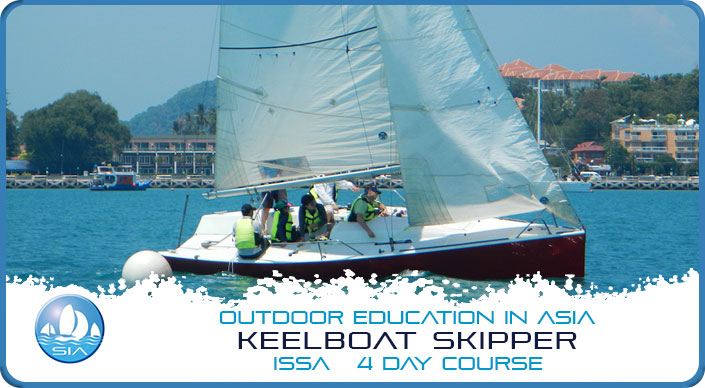 Keelboat skipper ISSA 4 day course