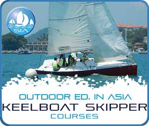 Keelboat skipper courses with Sail in Asia