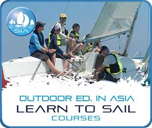 Learn to sail courses with Sail in Asia