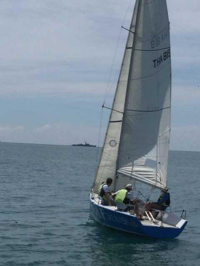 Balancing the boat