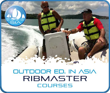 Ribmaster Courses with Sail in Asia