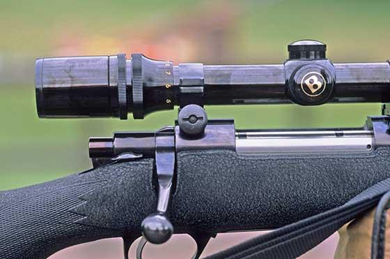 best rifle scope under 100