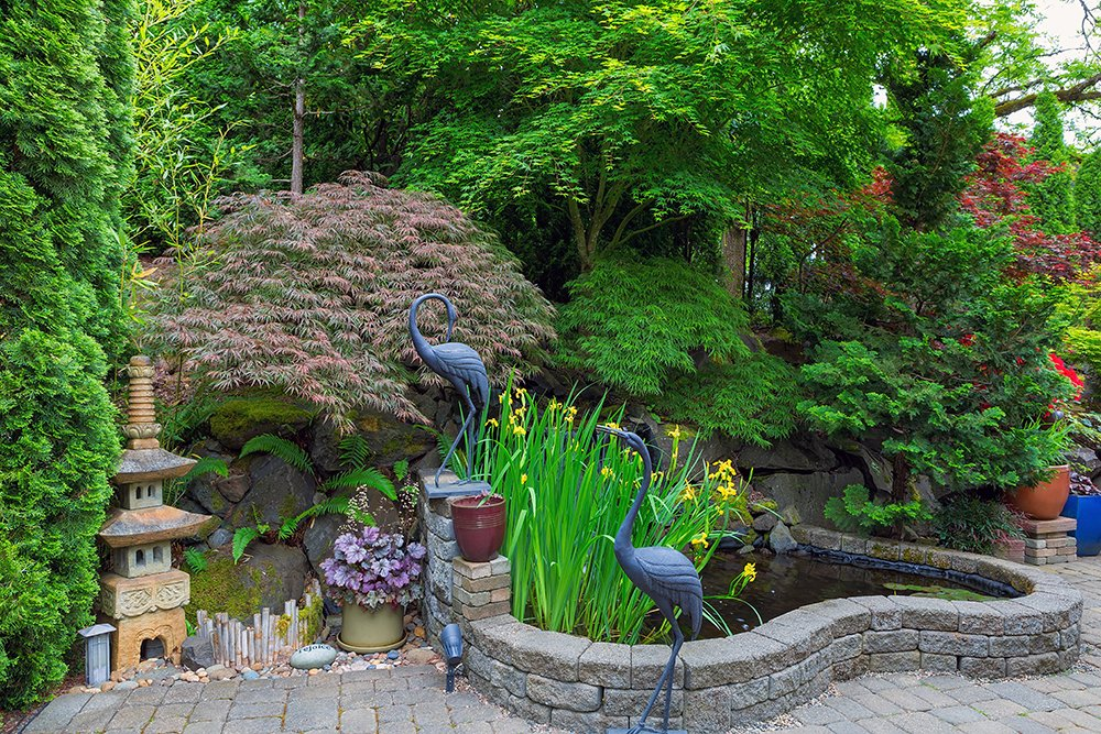 20 Japanese Botanical Garden Design Ideas To Inspire Your ... on Backyard Japanese Garden Design Ideas id=95382