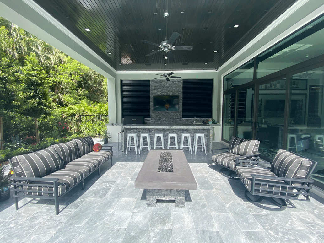 outdoor ceiling designs and materials