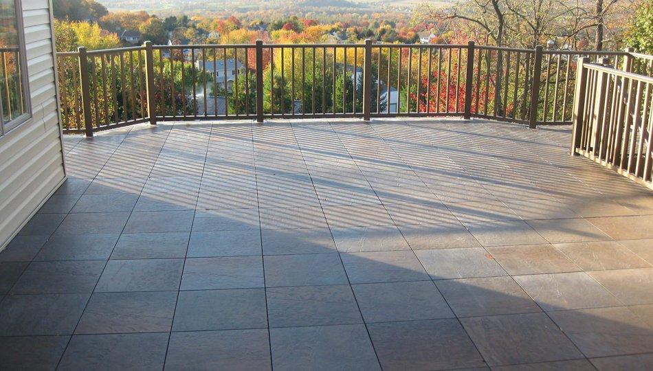 outdoor floor system tile decking