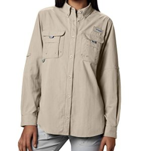 Columbia Women's PFG Bahama II Long Sleeve Breathable Fishing Shirt