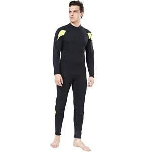 Long Sleeve Mens Wetsuit for Scuba Diving