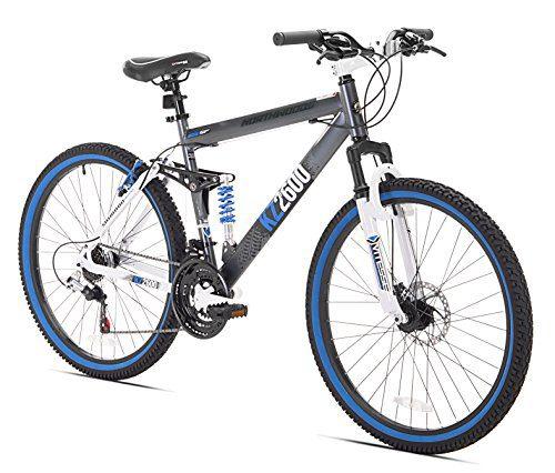 Kent KZ2600 Dual-Suspension Mountain Bike, 26-Inch