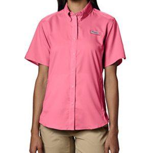 Columbia Women's PFG Tamiami II Short Sleeve Fishing Shirt